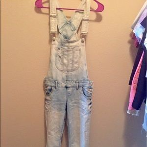 blue spice fitted overalls